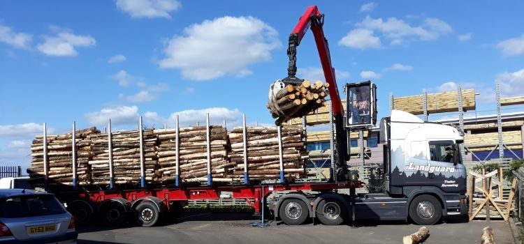 Landguard Timber Merchants Timber Donation